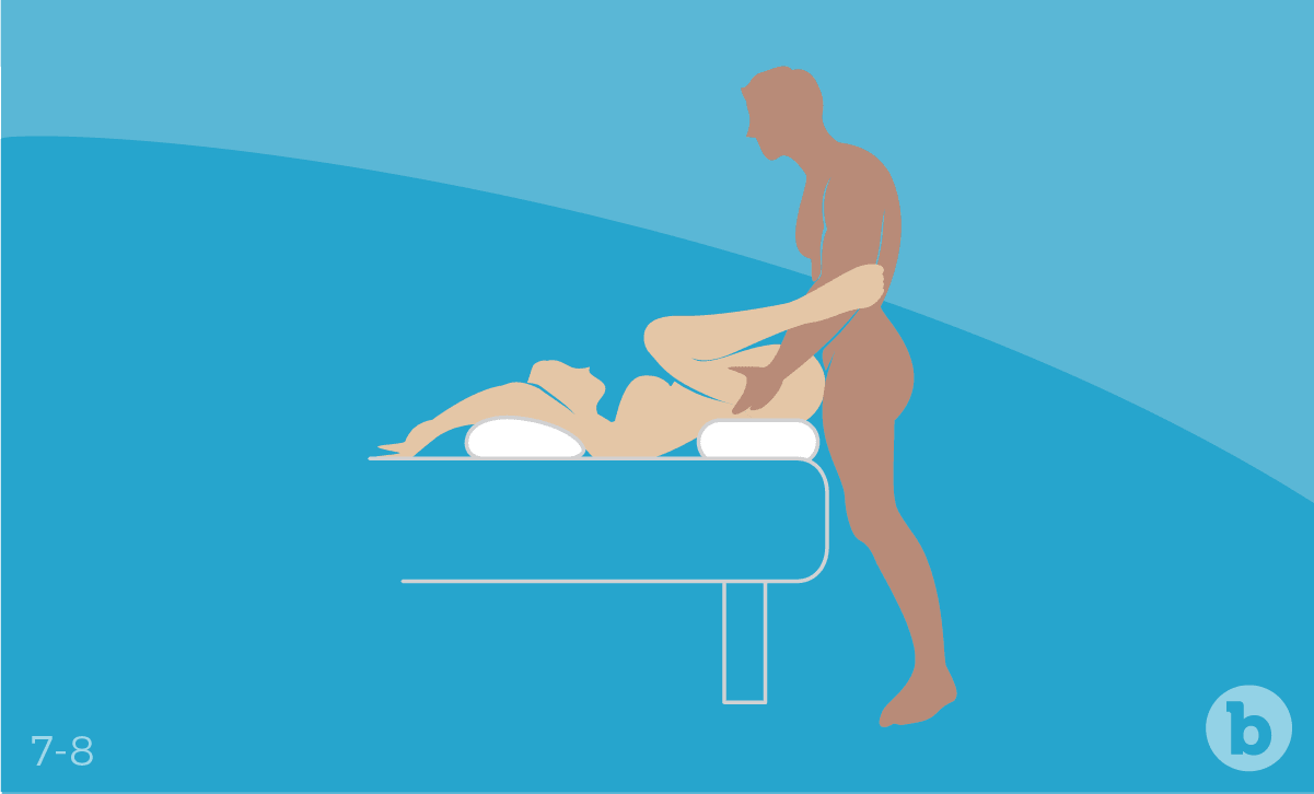 Face up positions are often preferred by couples who like to indulge in intimate anal play