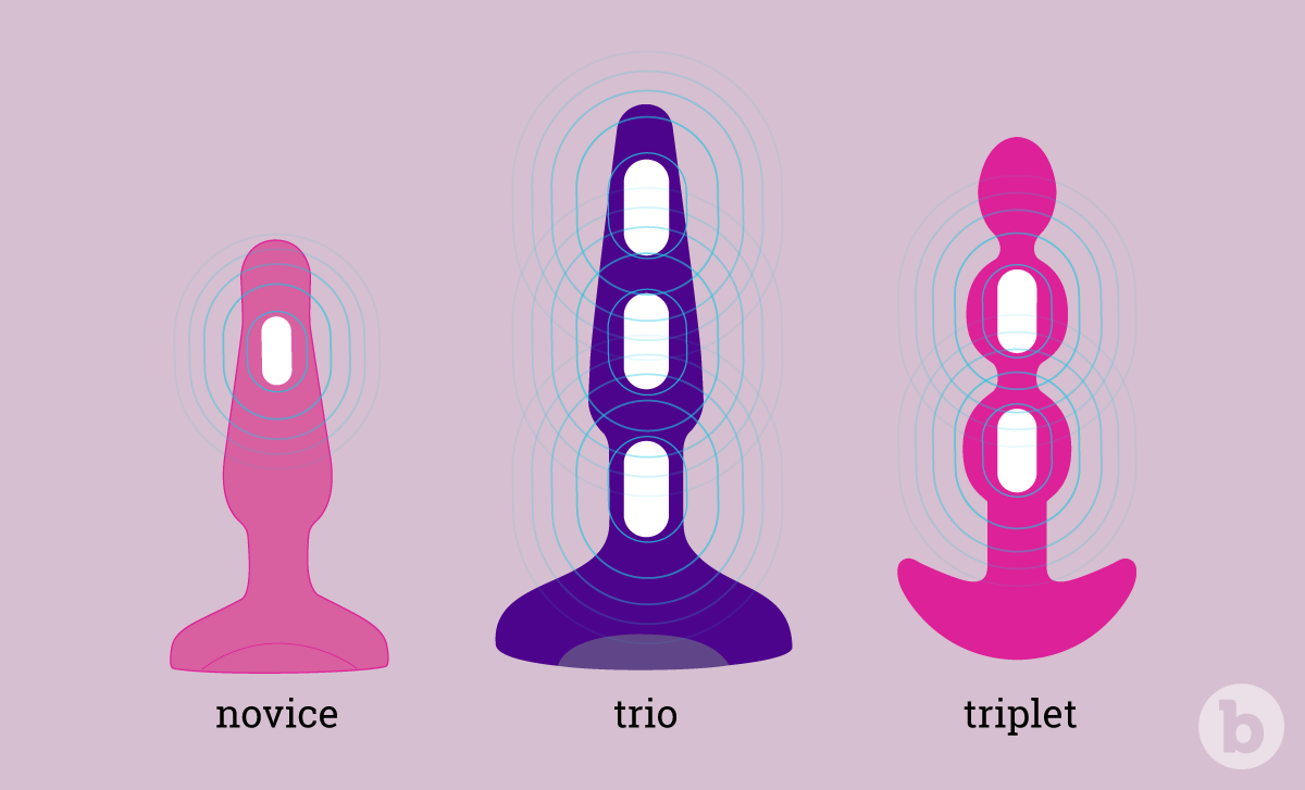 b-Vibe's collection of vibrating anal toys are perfect for anal training and prostate stimulation