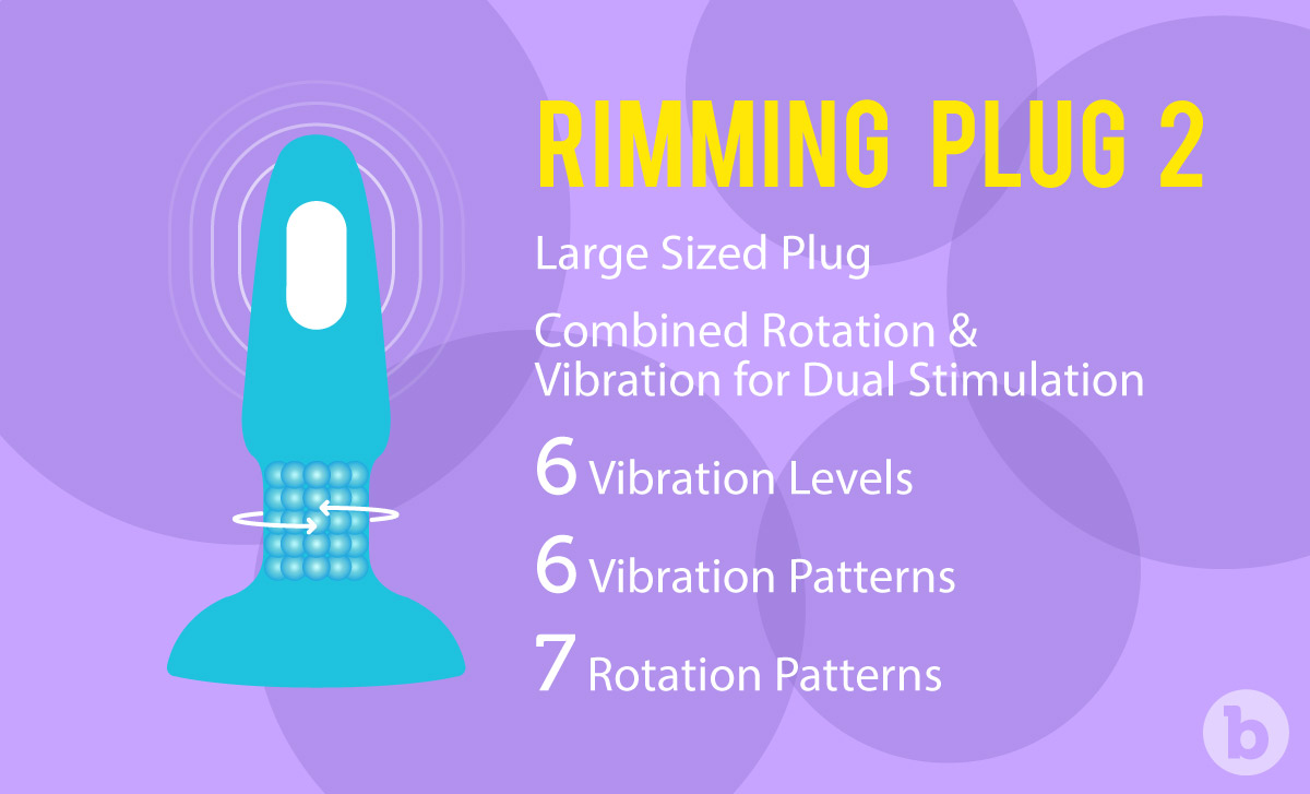 Benefits of b-Vibe Rimming Plug 2