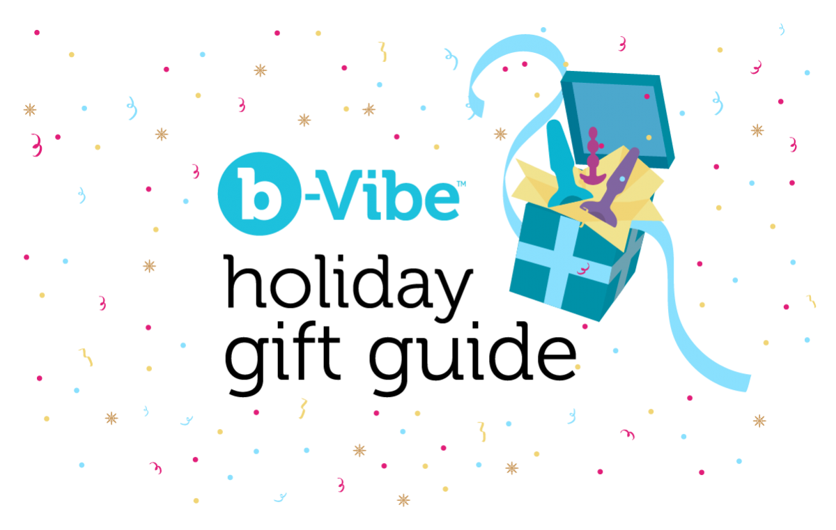 b-Vibe's holiday gift guide to buying a butt toy