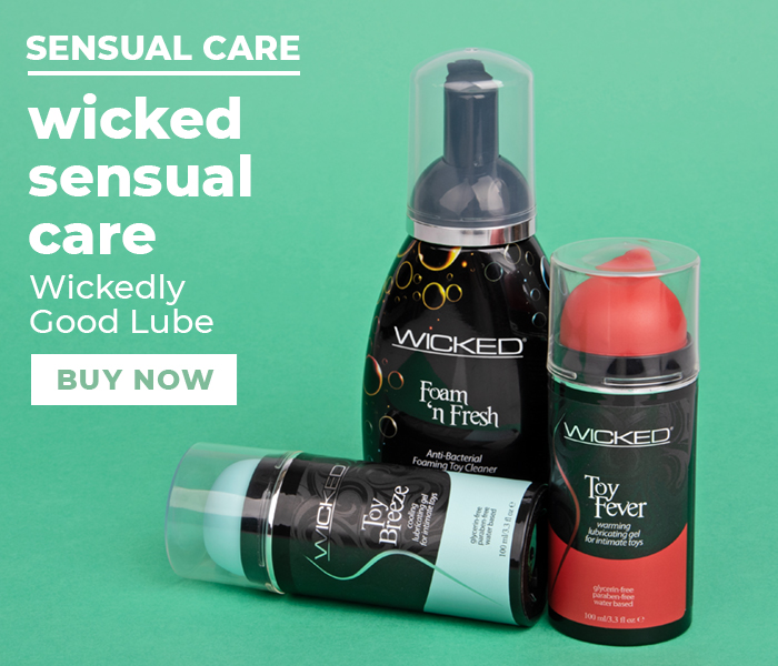 Browse the Wicked sensual care products
