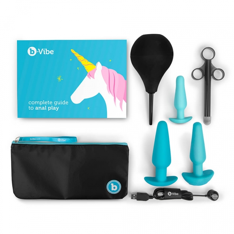 b-Vibe anal training kit & education set