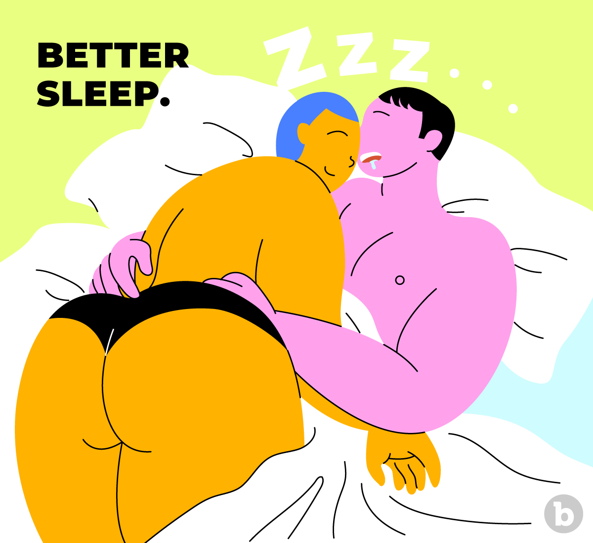Having orgasms can help with sleep deprivation