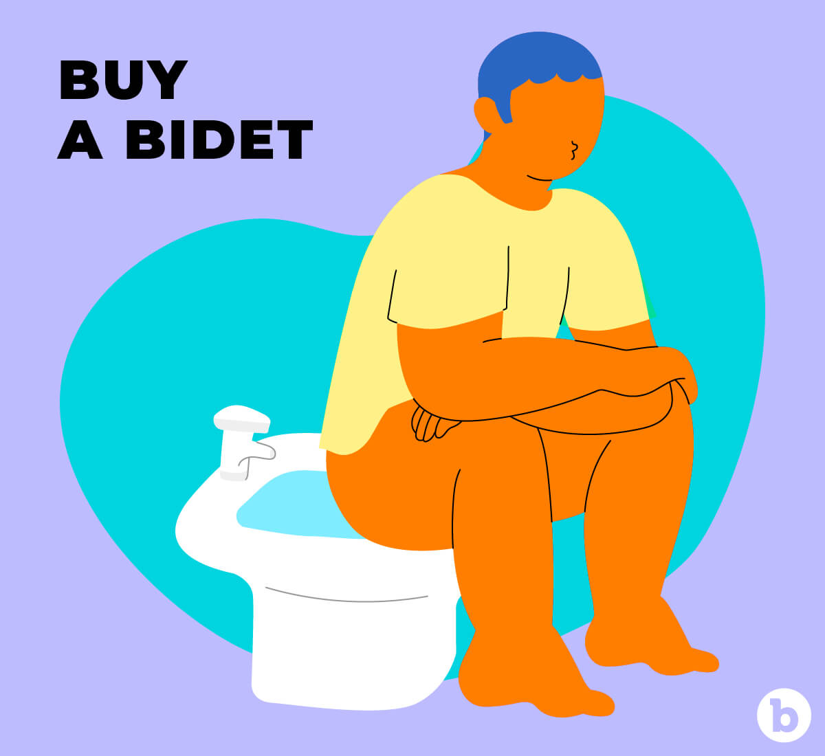 Investing in a bidet could be another booty resolution for 2021