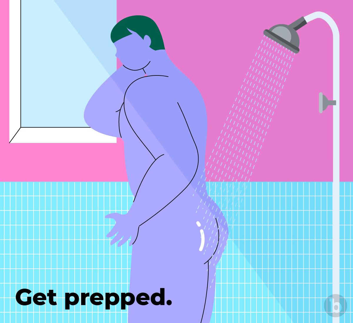 Preparation is the key to having comfortable anal play